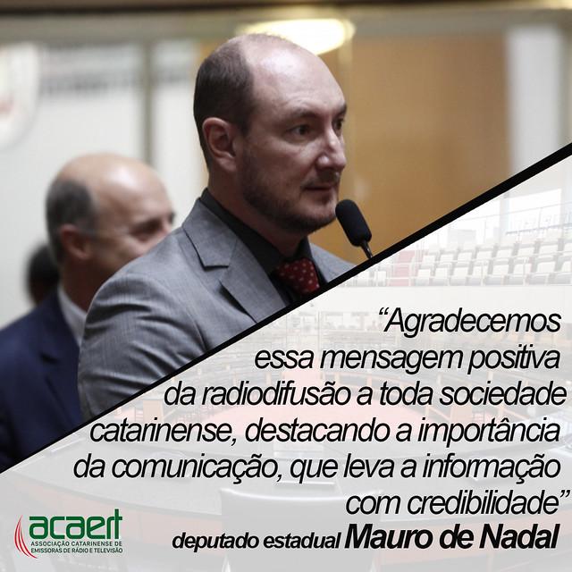Deputados Estaduais destacam atuação da ACAERT