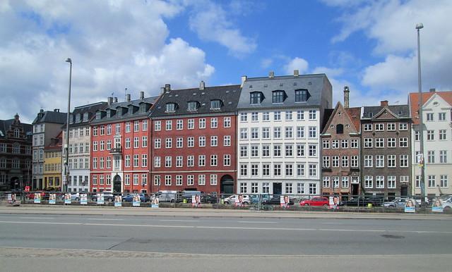 Buildings by Canal, Copenhagen