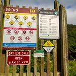 Cape Perpetua - Bob Creek Sign