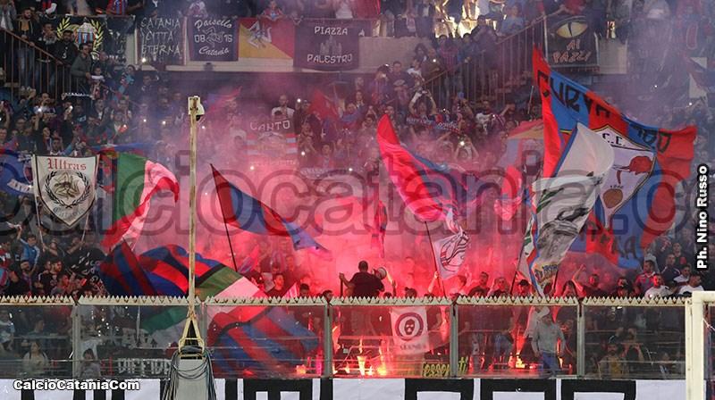 I tifosi del Catania, cuore pulsante dell'Elefante