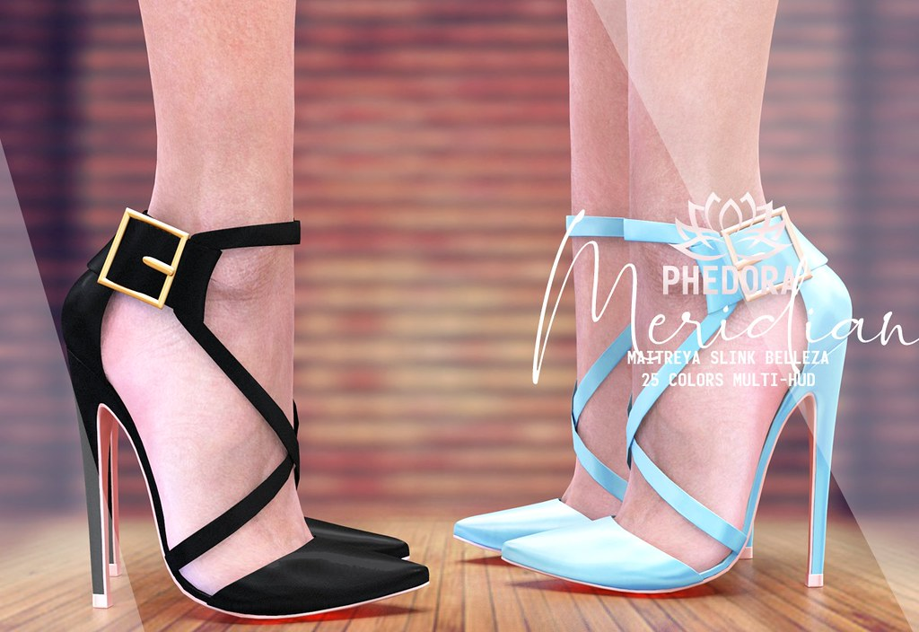"Phedora for Level Event – ""Meridian"" heels ♥"