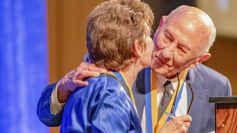 Luskins Receive UCLA Medal
