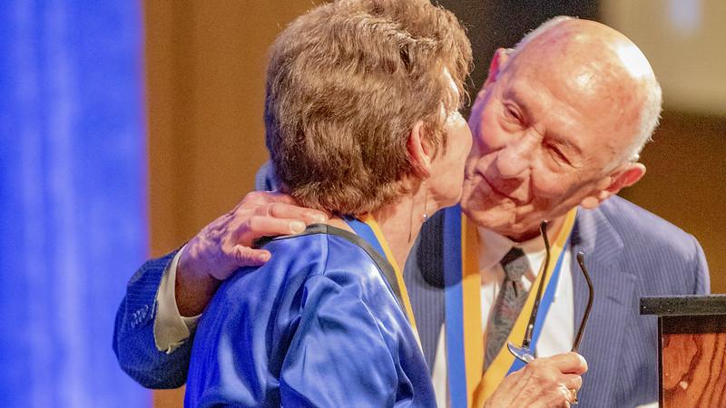 Luskins Receive UCLA Medal
