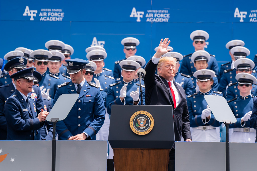 The United States Air Force Academy Graduation Ceremony