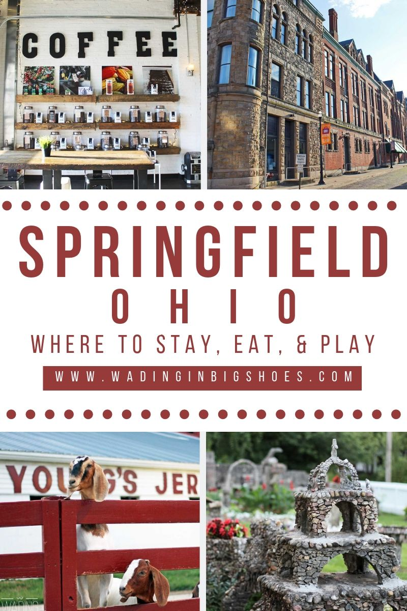 Greater Springfield, Ohio has a rich history, vibrant community, and big-city atmosphere with a small-town feel. Learn what makes this destination a fun getaway here!