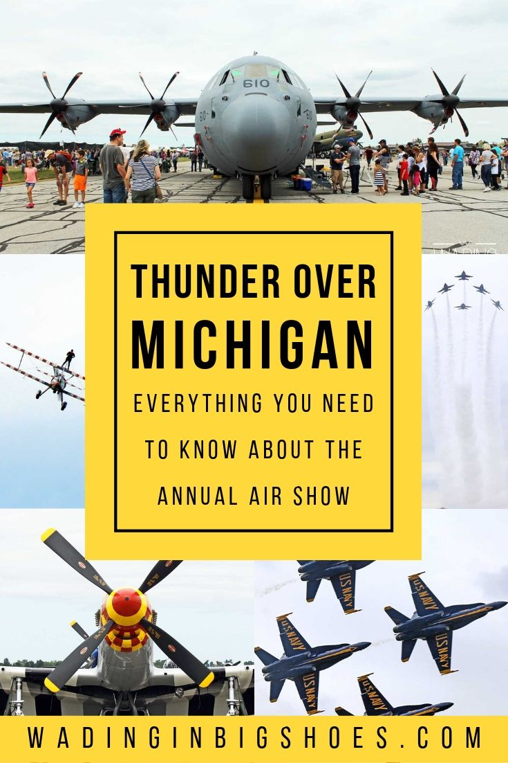 Planning a visit to the annual Thunder Over Michigan Air Show in Ypsilanti, Michigan? Here's what you can expect to see at the premier aviation event. (via Wading in Big Shoes)