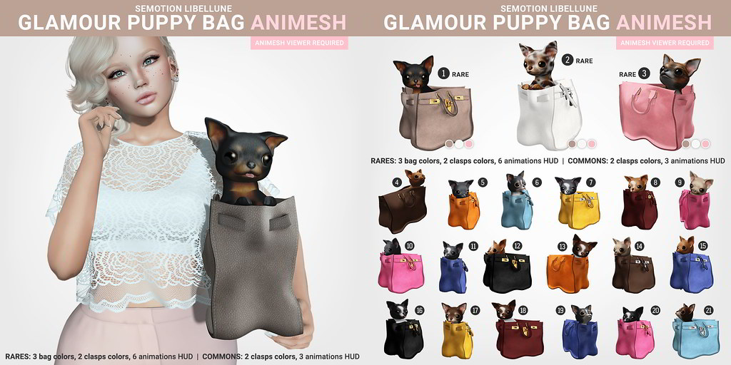SEmotion Libellune Glamour Puppy Bag