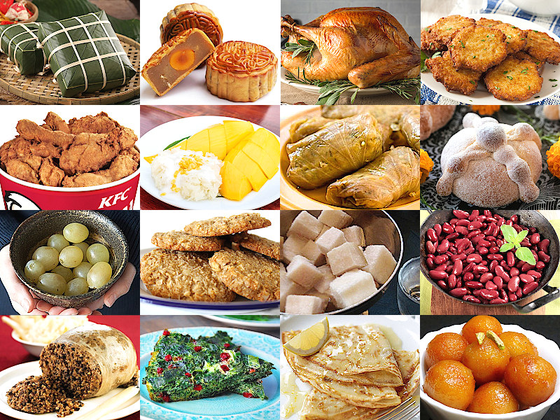 Pick a Celebration Food from around the World Quiz - By ...