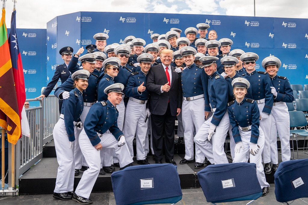 Air Force Graduation >> The United States Air Force Academy Graduation Ceremony Flickr