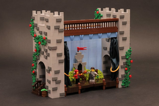 LEGO Classic Castle Theatre Stage Play