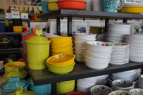 fiesta fiestaware flatwoodswv flatwoods dishes colorful