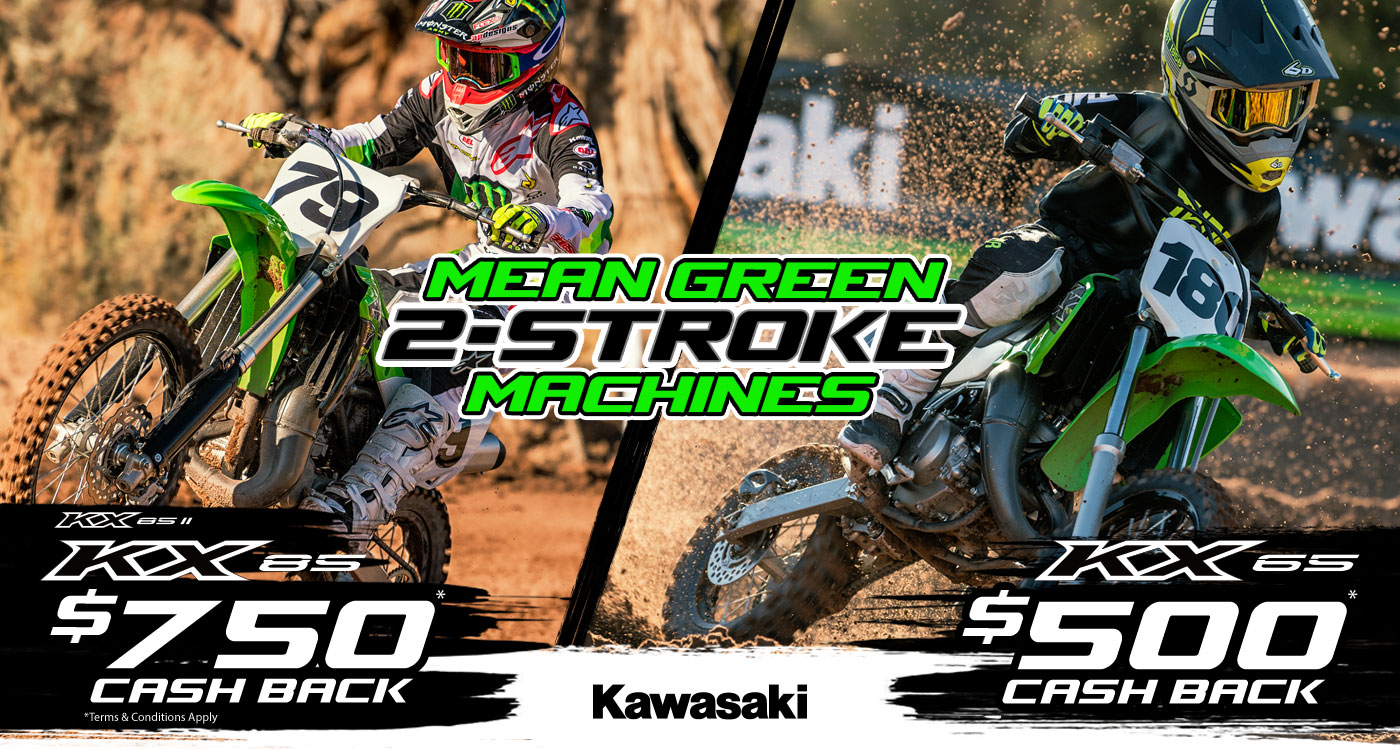 Mean Green 2-stroke Machines