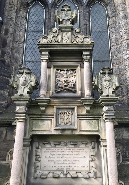 The Glasgow Cathedral in Glasgow, Scotland.