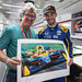 Alexander Rossi and Bill Patterson