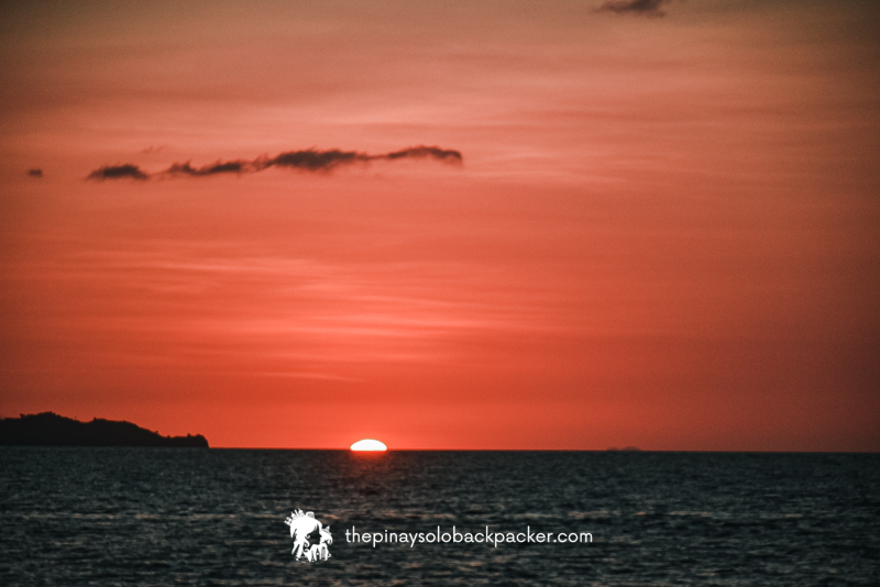 maniwaya island sunset
