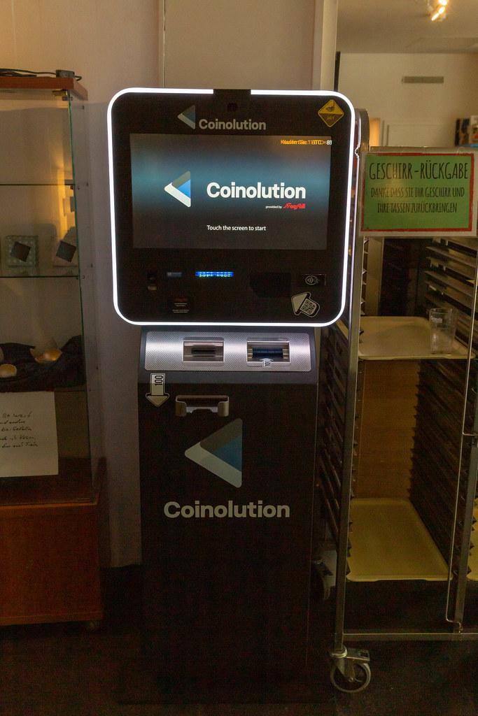 In aproape toate statele americane se gasescs ATM-uri Bitcoin