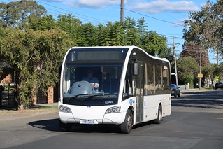 Optare Solo on WSU shuttle at Revesby