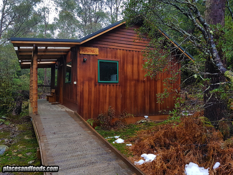 tasmania cradle mountain cottage winter