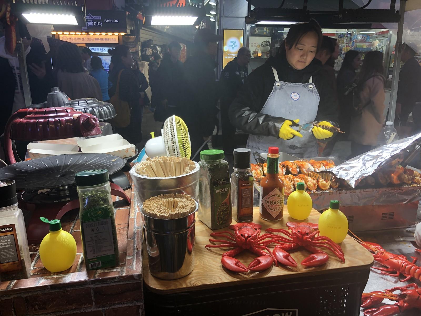 Lobster   Myeongdong Street Food