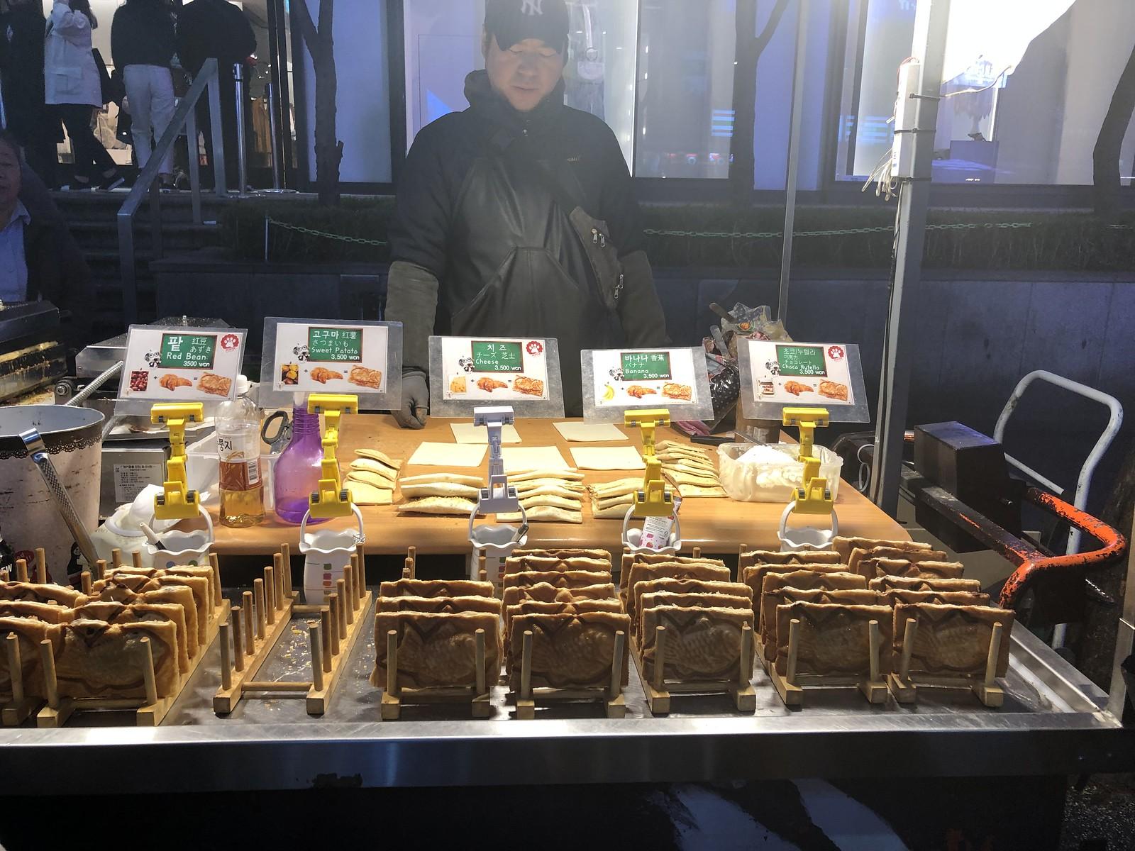 Bungeoppang 붕어빵   Myeongdong Market