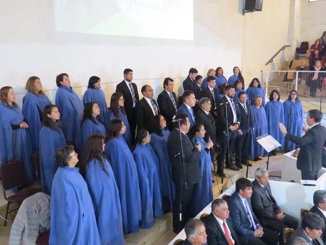 Servicio de Acción de Gracias 2019 en Iglesia La Portada San Bernardo