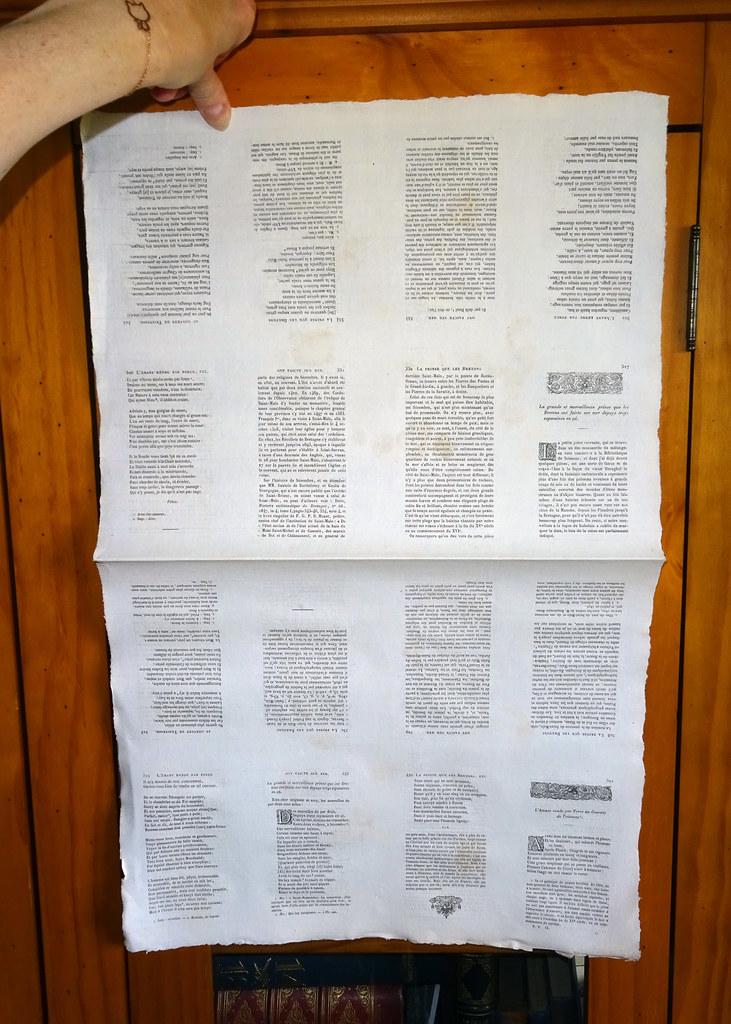 Page exceptionnelle de la bibliothèque Elzevirienne