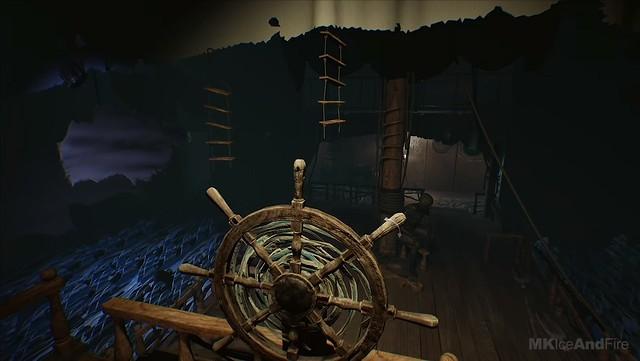 डर 2 की परतें - समुद्री डाकू नाव