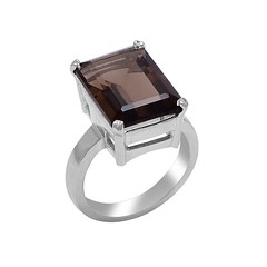 Find stunning smoky quartz rings