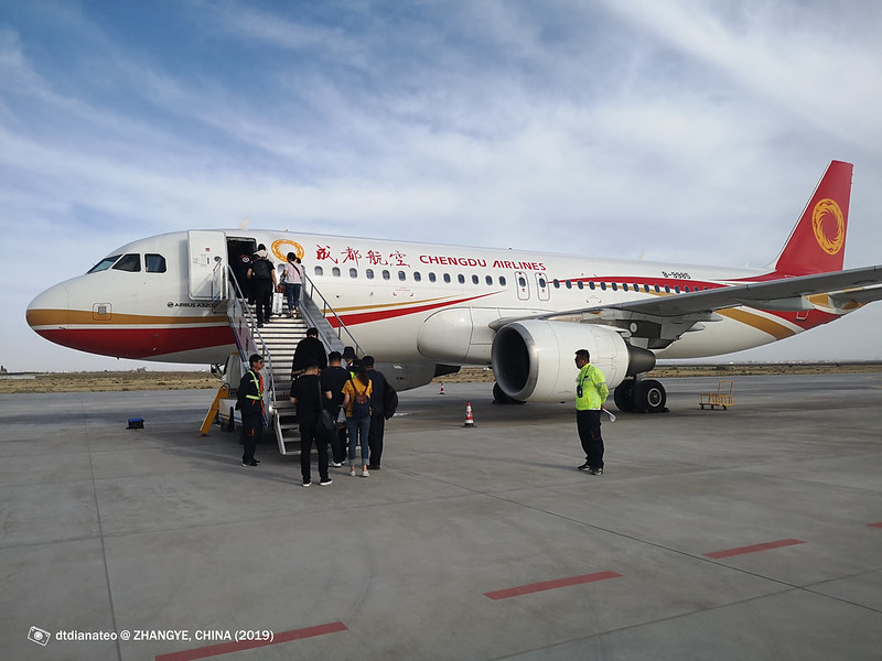 2019 China Zhangye Chengu Airlines