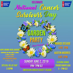 National Cancer Survivors Day - Garden Party - June 1