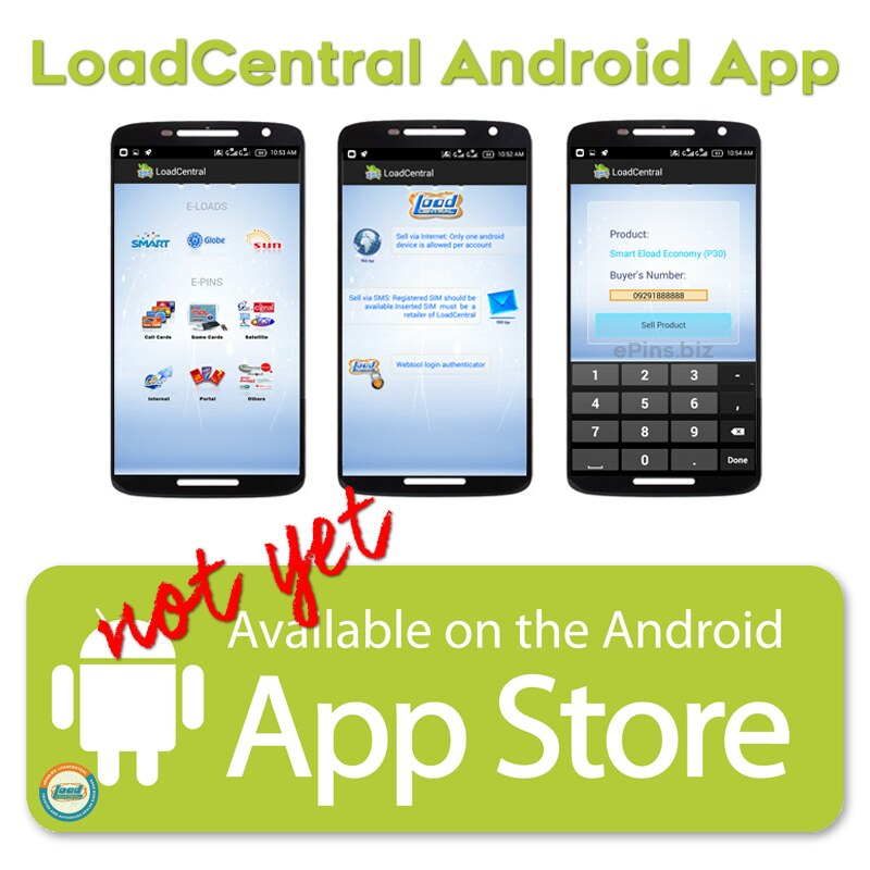 Latest Google Play LoadCentral Android App Version (2019)