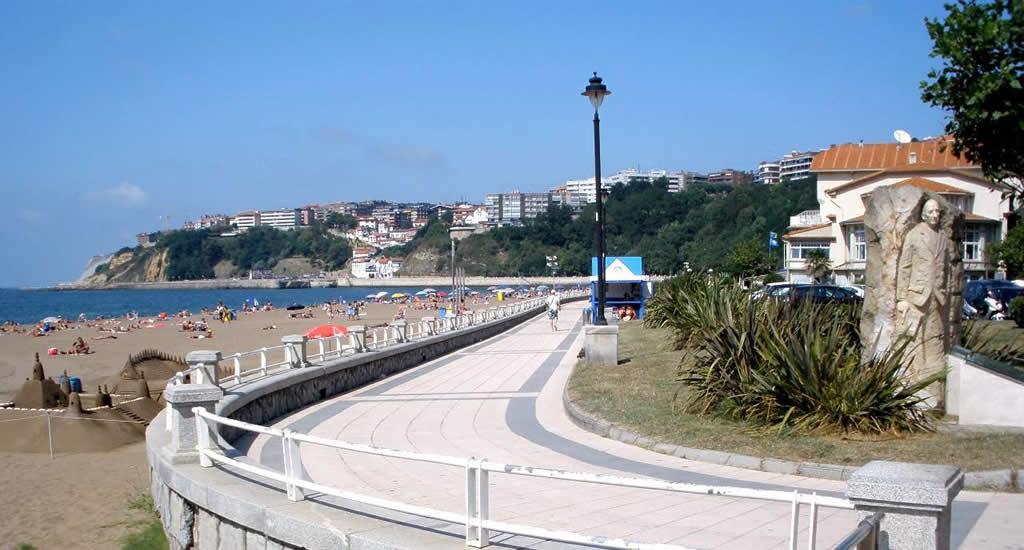 Stranden van Bilbao: Ereaga Beach, Getxo | Mooistestedentrips.nl