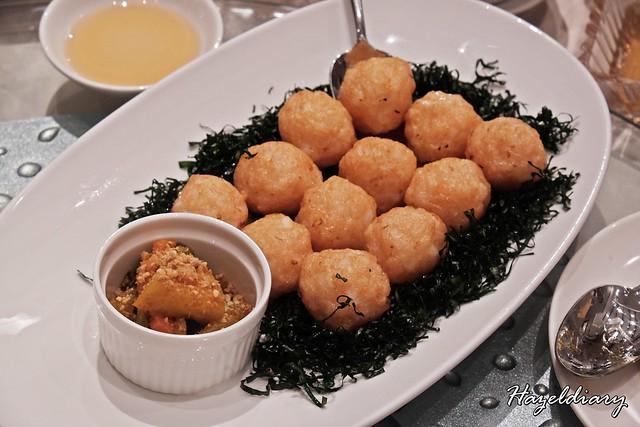 Zui Yu Xuan Teochew Restaurant -Prawn Ball