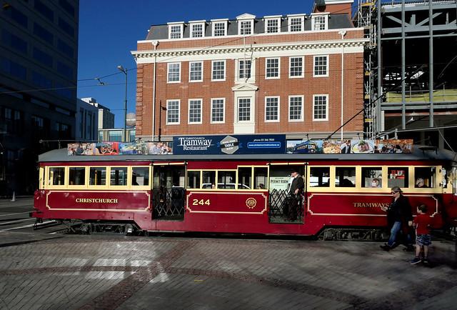 Christchurch's trams.