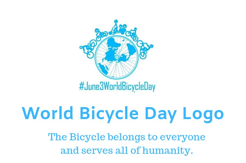 world bicycle day 2019 logo