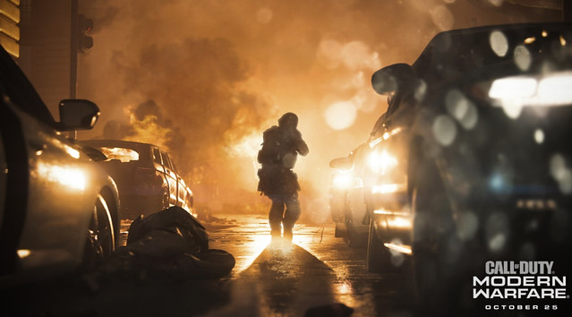 Call of Duty Modern Warfare - Bokeh DOF