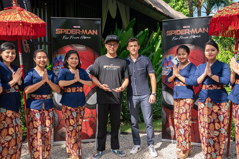 Budiey & Tom Holland at Bali