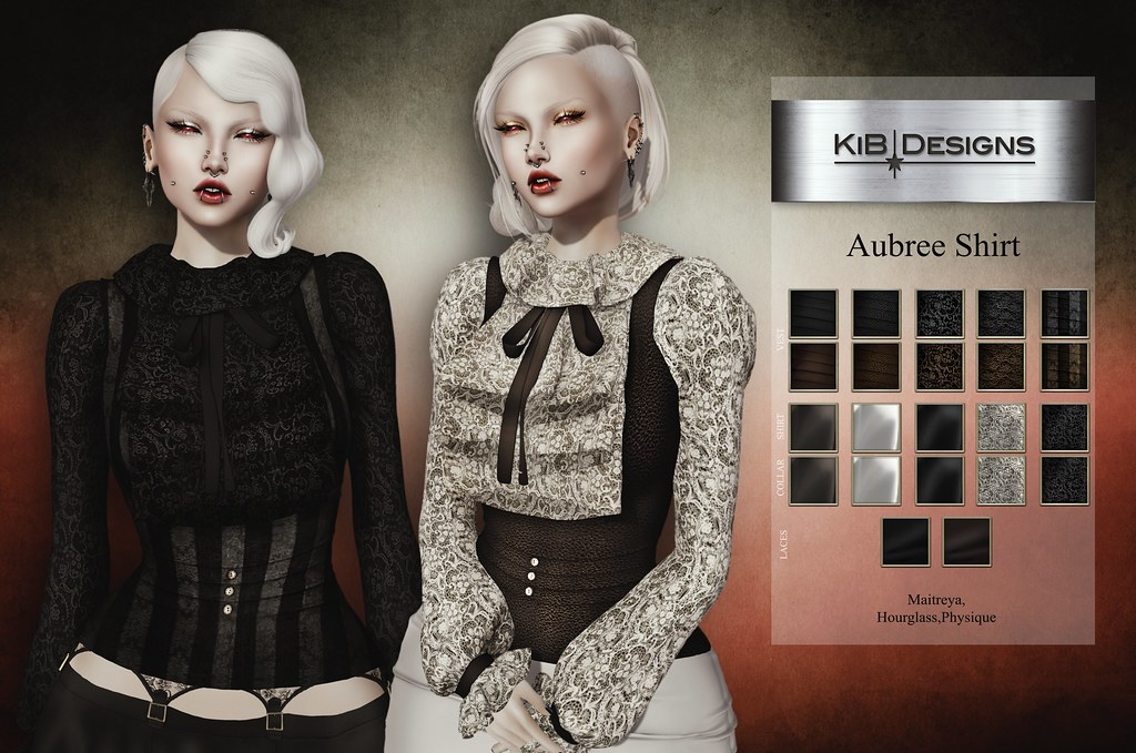 KiB Designs - Aubree Shirt @Darkness Event - TeleportHub.com Live!