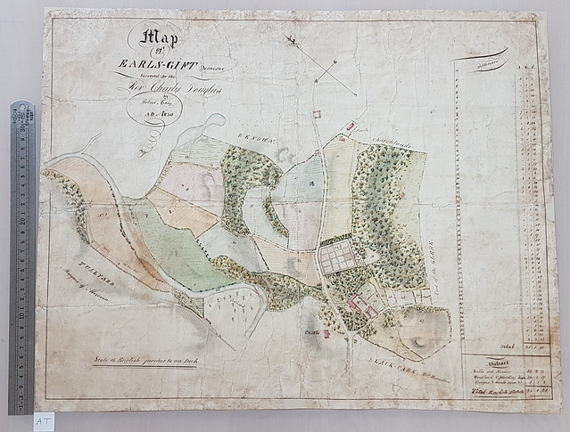 Conserving the Earl's Gift Map