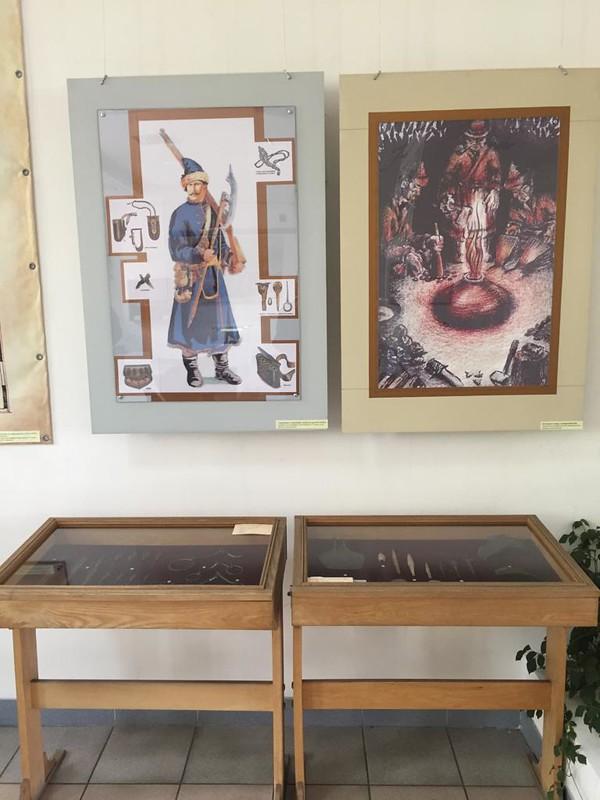 Кузнецкая крепость - В музее