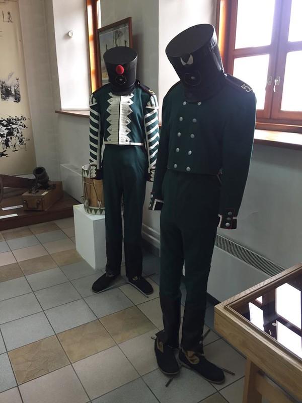 Кузнецкая крепость - Мундиры