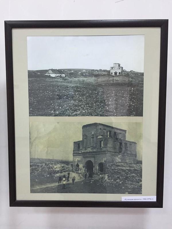 Кузнецкая крепость - Разрушенные Барнаульские ворота