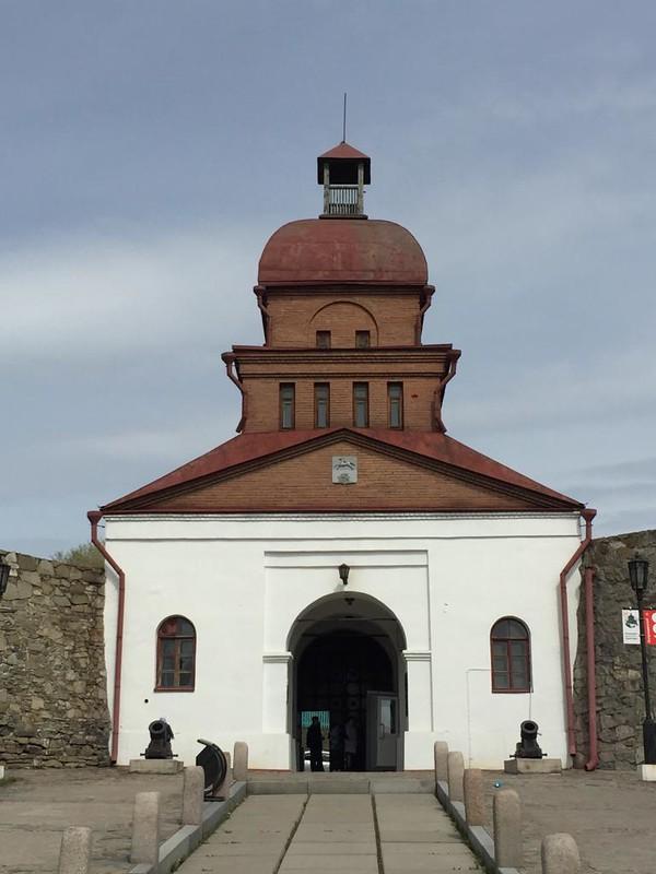 Кузнецкая крепость - Барнаульские ворота