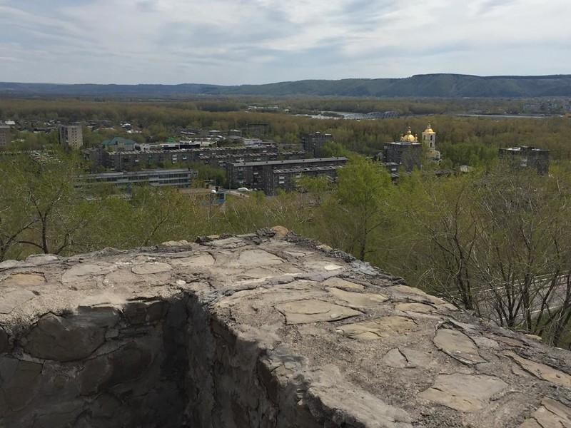 Кузнецкая крепость - Вид на город