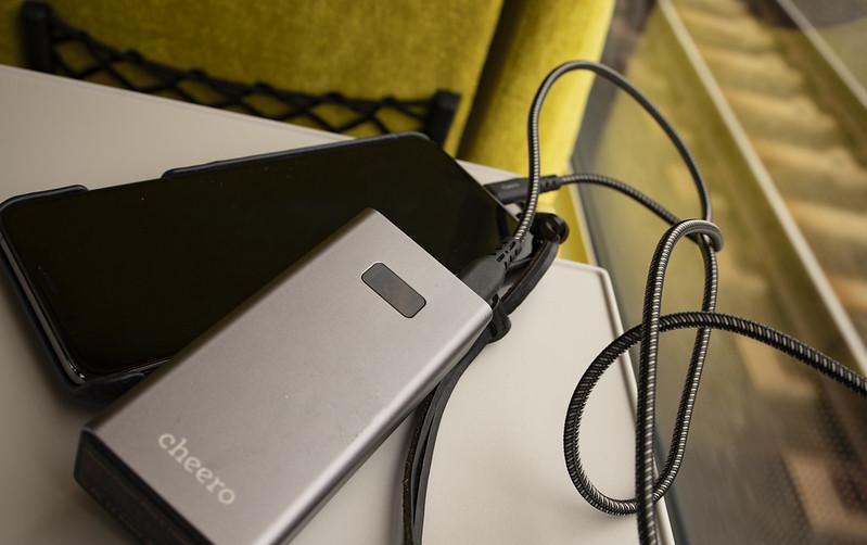 iPhone充電も速くなる:cheero USB-C to Lightningケーブル