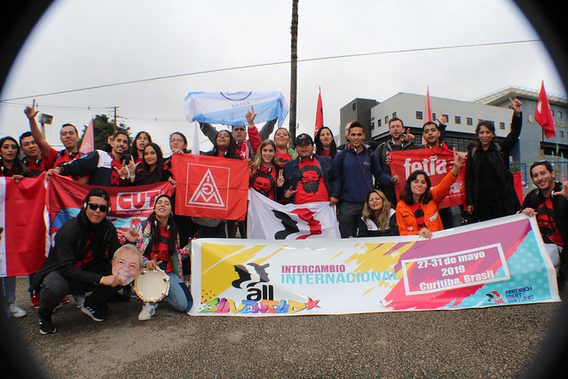 IndustriALL & FES Youth International Exchange Program - Curitiba, Brazil 2019
