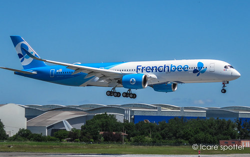 Airbus A350-941. FrenchBee. F-HREY / F-WWIW. Msn: 325   by Icare spotter