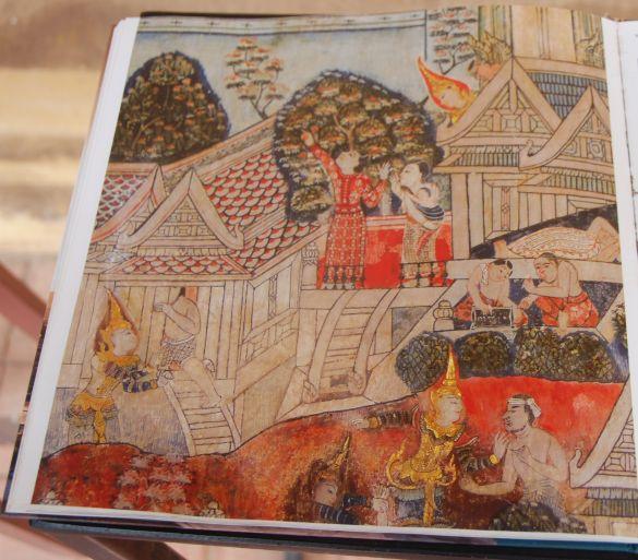 DSC_3564LaosVientianeSisaketMuseumWatSiSaketMuurschilderingenBoek
