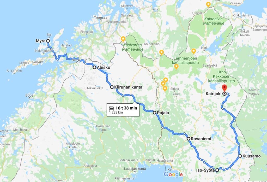Autoilijan Tiekartta Suomi 2019
