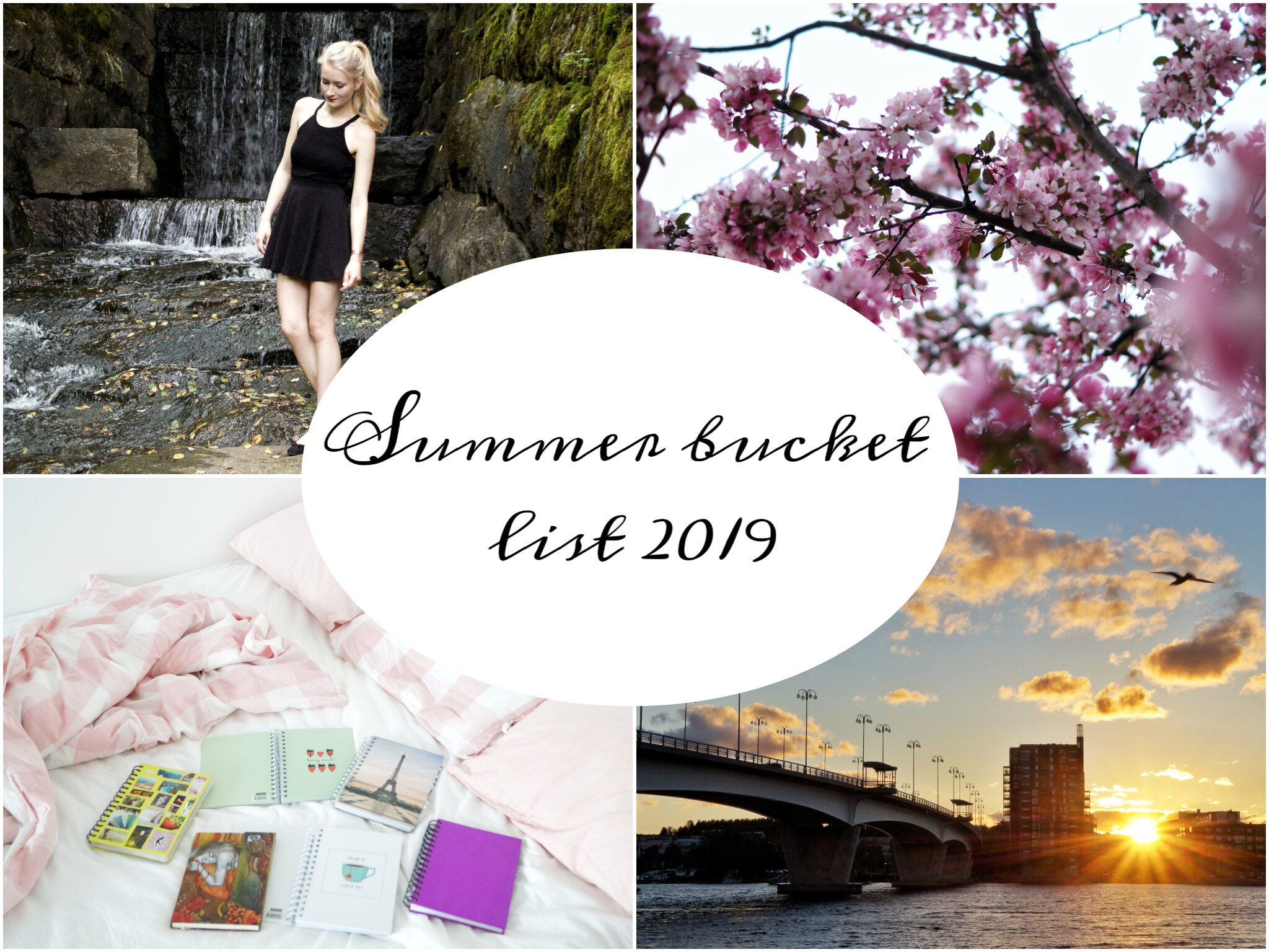 summer bucket list 2019 suomi